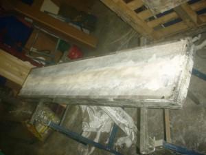 Contaminated catalytic heater