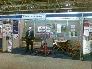 TCS stand at Surface World 2009-David