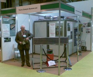 TCS stand at exhibition in N.E.C.